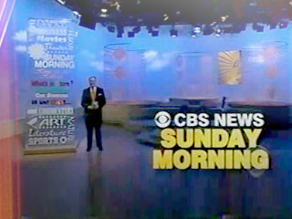 CBS Sunday Morning Opening Scene